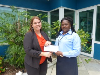 Water Authority Donates to GTPS