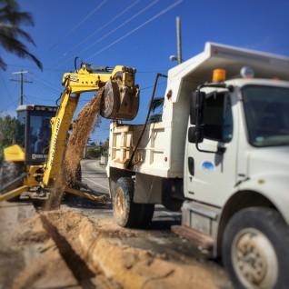 Public Service Announcement - Condor Road Works