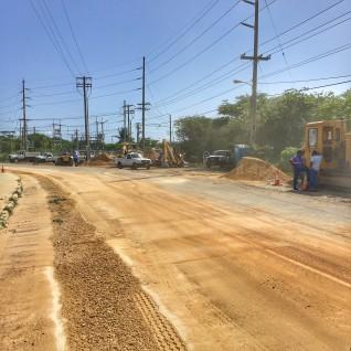 Public Service Announcement - Condor Road Works and Service Interruption
