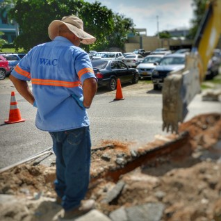 Accidental Fuel Spill Contaminates Water