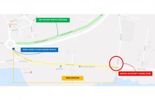 Public Service Annoucement - Partial Closure of Shamrock Road